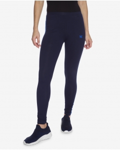 R&B Navy blue Cotton Blend Joggers