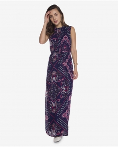 R&B Patterned Long Dress