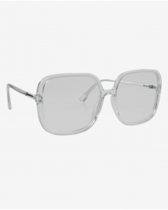 R&B Square Shaped Sunglasses-White