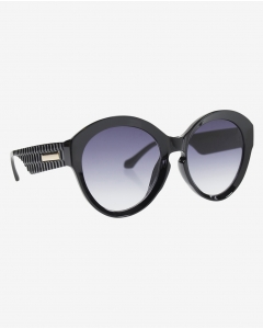 R&B Butterfly Shaped Sunglasses-Black