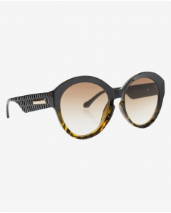 R&B Butterfly Shaped Sunglasses-Brown