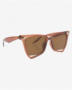 R&B Butterfly Shaped Sunglasses-Gold