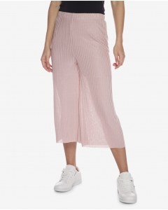 R&B Cropped See-Through Pants