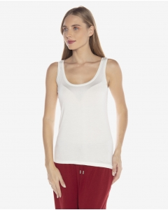 R&B White Tank Top