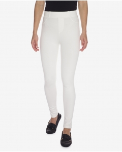 R&B Cotton Blend Pants  White
