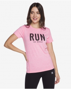 R&B Printed T-Shirt  Pink