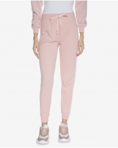 R&B Striped Sweatpants-Dusty Pink