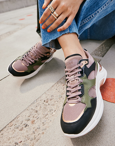 Our Sneakers. Your way.